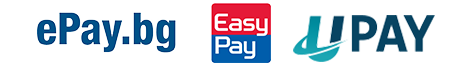 Методи за плащане на такси - ePay, EasyPay, UPay