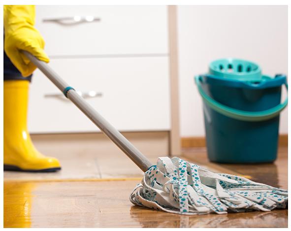 Ръчно почистване (измиване) на твърди подови настилки