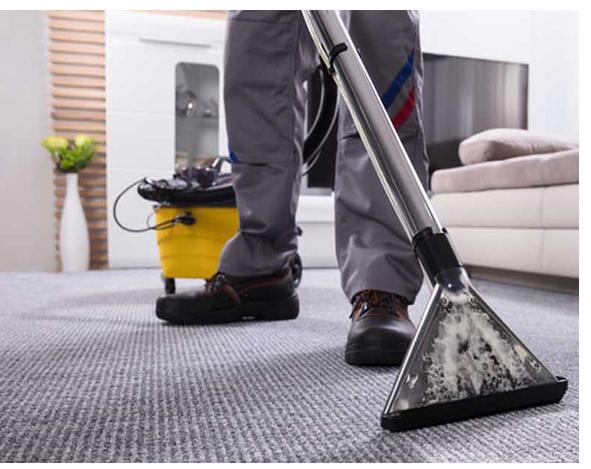 Професионално почистване и пране с екстрактор на мокети и килими