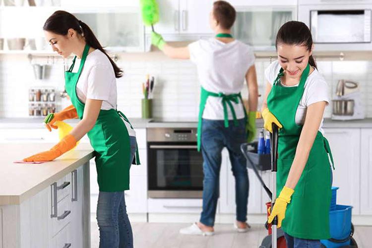 Почистване на кухнята